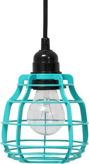 h ngelampe lab blau mit stecker hk living kaufen. Black Bedroom Furniture Sets. Home Design Ideas